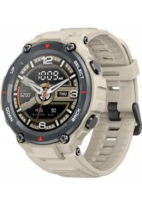 AMAZFIT - Smartwatch Amazfit T-Rex Khaki Beżowy (W1919OV2N). Rodzaj zegarka: smartwatch. Kolor: beżowy, brązowy, wielokolorowy