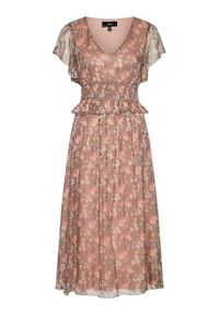 Różowa sukienka letnia Nissa