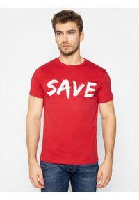Czerwony t-shirt Save The Duck
