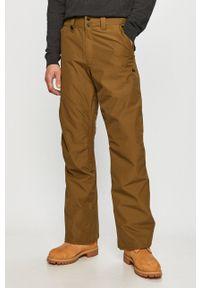 Quiksilver - Spodnie. Okazja: na co dzień. Kolor: zielony. Styl: casual