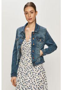 Niebieska kurtka Vero Moda na co dzień, casualowa