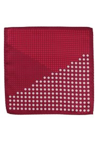 Czerwona poszetka Alties w kropki