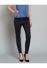 WILD MASCOT - Spodnie. Okazja: na co dzień. Kolor: czarny. Materiał: guma. Długość: długie. Styl: klasyczny, elegancki, casual