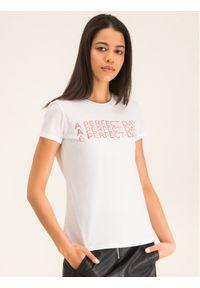 Biały t-shirt Marella