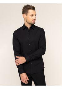 Czarna koszula biznesowa Michael Kors