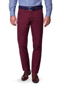 Czerwone spodnie Lancerto na co dzień, sportowe, w kolorowe wzory