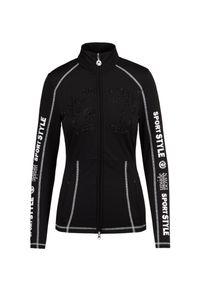 Sportalm - Bluza SPORTALM NORTHSTAR RL. Materiał: dresówka, jersey, elastan. Wzór: nadruk, aplikacja. Sezon: zima. Styl: sportowy