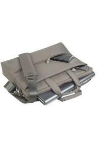 Beżowa torba na laptopa RIVACASE elegancka #3