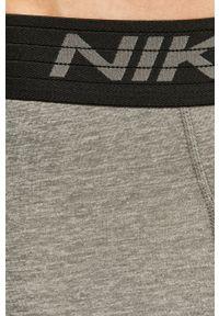 Nike - Szorty. Kolor: szary. Materiał: dzianina