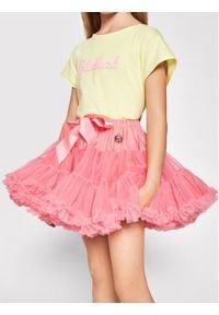 LaVashka Spódnica 96-B Różowy Regular Fit. Kolor: różowy
