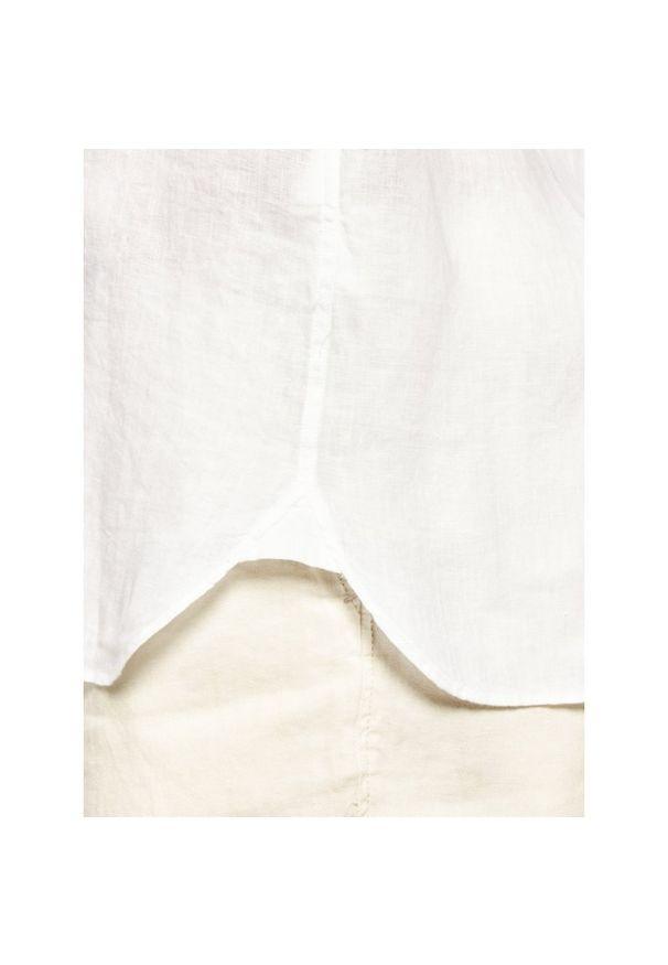 Biała koszula casual Trussardi Jeans
