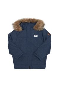 Niebieska kurtka zimowa LEGO Wear