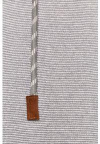 Szara bluza nierozpinana medicine z kapturem, casualowa #5