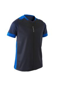 Koszulka do piłki nożnej KIPSTA krótka, z dekoltem w kształcie v, na lato