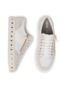 Geox Sneakersy D Leelu' E D94FFE 08522 C1352 Biały. Kolor: biały