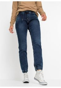 Niebieskie jeansy bonprix