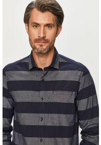 Niebieska koszula s.Oliver z długim rękawem, casualowa