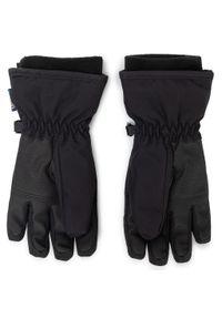 Czarne rękawiczki Rossignol