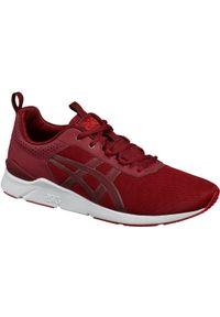 Czerwone sneakersy Asics lifestyle Asics Gel Lyte, z cholewką