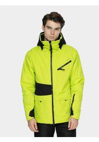 outhorn - Kurtka narciarska męska. Materiał: mesh, materiał, poliester. Sezon: zima. Sport: narciarstwo