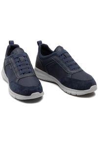 Geox Sneakersy U Monreale C U15BVC 01122 C4002 Granatowy. Kolor: niebieski