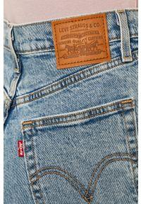 Niebieskie jeansy Levi's® na co dzień, biznesowe, z podwyższonym stanem #4