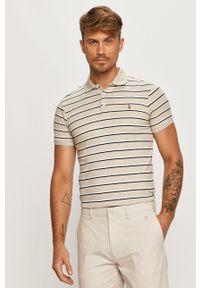 Szara koszulka polo Polo Ralph Lauren krótka, polo