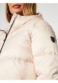 Beżowa kurtka zimowa EA7 Emporio Armani