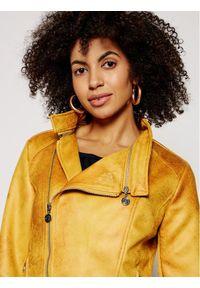 Żółta kurtka przejściowa Desigual street