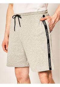 Szare spodenki sportowe Calvin Klein Swimwear
