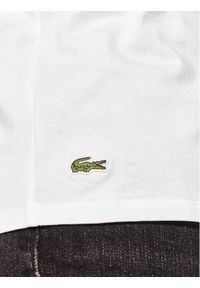 Lacoste Komplet 3 t-shirtów TH3451 Biały Regular Fit. Kolor: biały