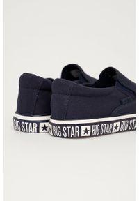Big-Star - Big Star - Tenisówki. Kolor: niebieski. Materiał: guma