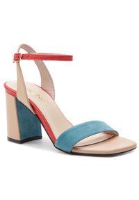 Niebieskie sandały Carinii