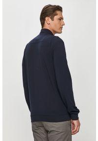 Niebieska bluza rozpinana Guess na co dzień, z aplikacjami