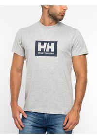 Helly Hansen T-Shirt Tokyo 53285 Szary Regular Fit. Kolor: szary