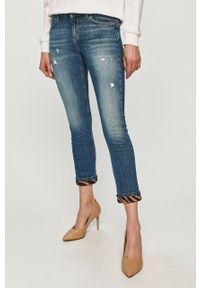 Niebieskie proste jeansy Liu Jo