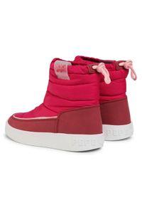 Pepe Jeans Buty Brixton Girl Puff PGS50158 Różowy. Kolor: różowy