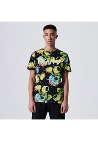 Cropp - Koszulka z nadrukiem Rick and Morty - Czarny. Kolor: czarny. Wzór: nadruk