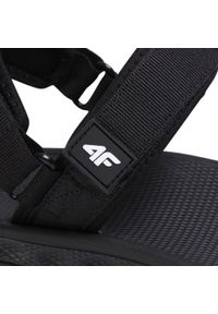 Czarne sandały trekkingowe 4f na lato