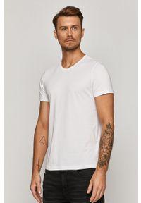Biały t-shirt medicine na co dzień, z okrągłym kołnierzem
