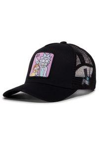 Czarna czapka z daszkiem CapsLab