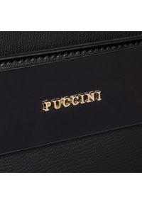 Czarna torebka klasyczna Puccini klasyczna #5