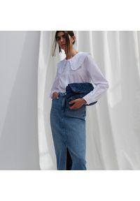 Reserved - Jeansowa spódnica - Niebieski. Kolor: niebieski. Materiał: jeans