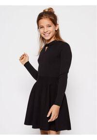 Mayoral Sukienka elegancka 7963 Czarny Regular Fit. Kolor: czarny. Styl: elegancki