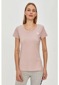 Różowa bluzka Kappa casualowa, na co dzień