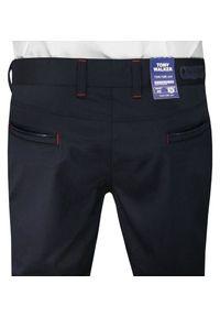 Niebieskie spodnie Tomy Walker eleganckie