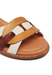 Brązowe sandały Pikolinos na co dzień, casualowe