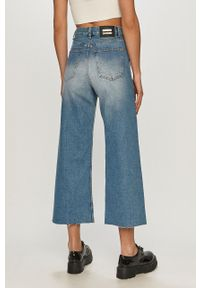 Niebieskie jeansy bootcut Dr. Denim z podwyższonym stanem