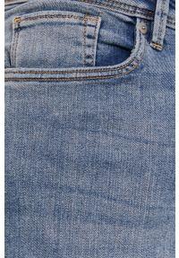 Selected - Szorty jeansowe. Okazja: na co dzień. Kolor: niebieski. Materiał: jeans. Styl: casual