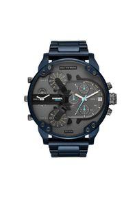 Niebieski zegarek Diesel